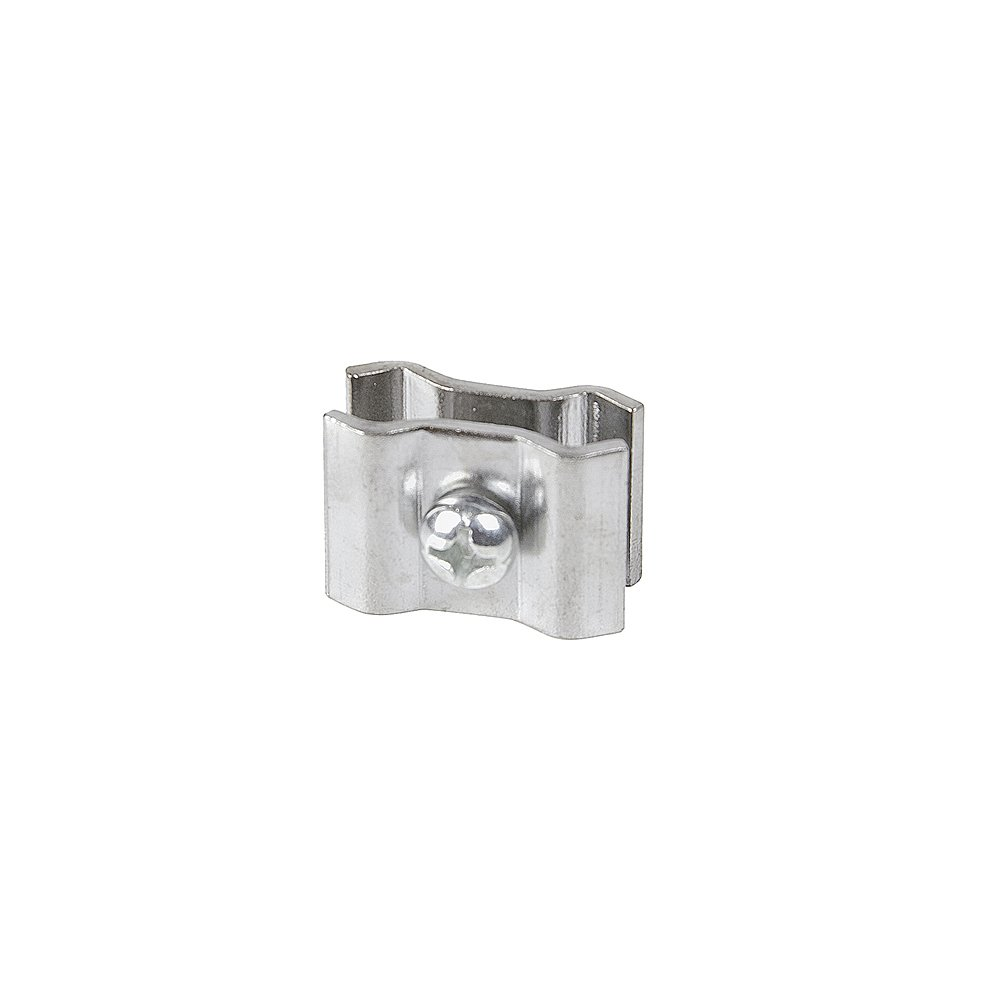 50 Pcs Chrome Color Grid Wall Joining Clips Connectors for Grid Panels