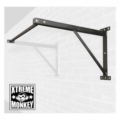 Xtreme Monkey Add on attachment to the Wall Mounted Chin Up/Pull Up Bar (Cross Fit) Black by Xtreme Monkey