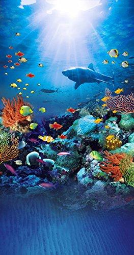 5 ftX7ft fondo marino fondo 3d Acuario fondo Acuario fotografía fondo c-1445: Amazon.es: Electrónica