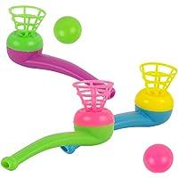 Toyvian Pipe Ball Toys 12 Piezas de plástico