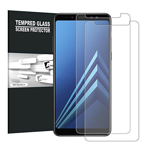 Samsung Galaxy A8 2018 Screen Protector, AVIDET 9H...