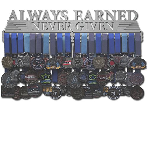 Allied Medal Hangers - Always Earned Never Given (compact) (24