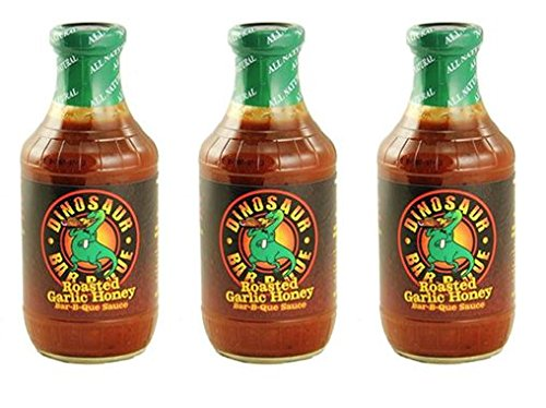 Dinosaur Bar-B-Que Roasted Garlic Honey BBQ Sauce 19oz