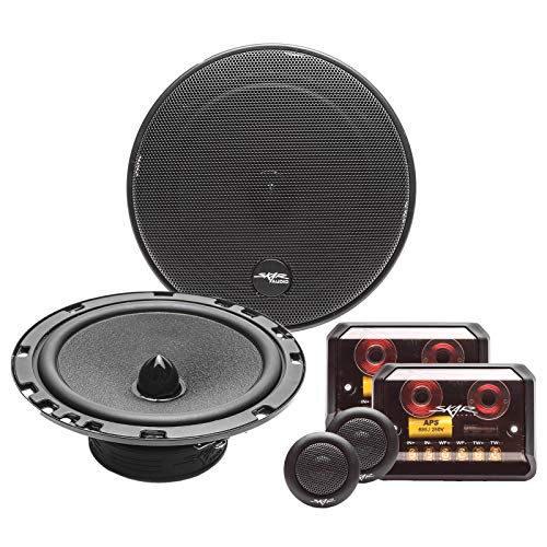 "Skar Audio SK65C 6.5"" 2-Way Performance Component Speaker System - Set of 2"