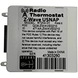 Radio Thermostat Company of America ZW.9.0 Z-Wave U-Snap Module, White