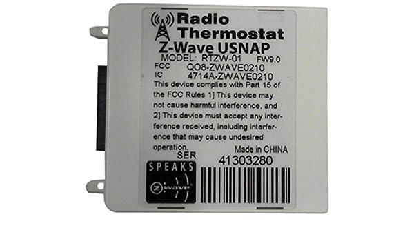 Radio termostato compañía de América wifi-marvell-1.04.84 WiFi U-SNAP módulo, ZW.9.0: Amazon.es: Bricolaje y herramientas