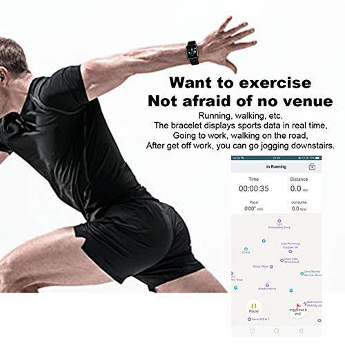 Amazon.com: Q3 Pulsera de rastreador de fitness, frecuencia ...