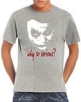 Touchlines Herren T-Shirt Joker - Why So Serious?