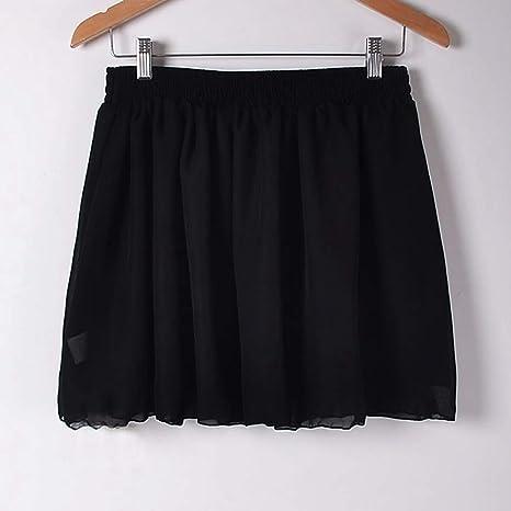 HEHEAB Falda,Mini Falda Negra Verano Europa Comercio Exterior ...