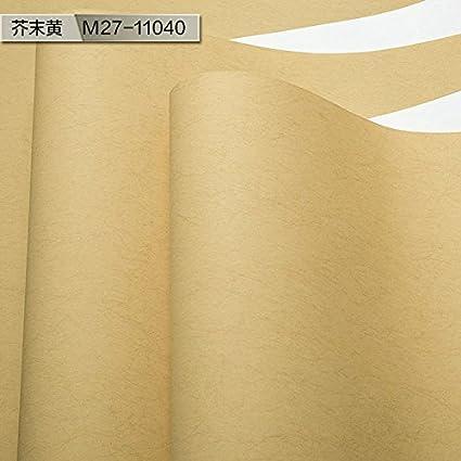 YUELA Mi Su papier peint aux couleurs chaudes pure couleur ...