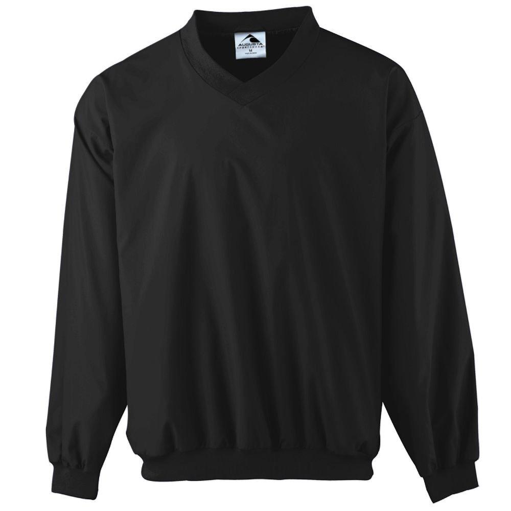 Augusta Sportswear Micro Poly Windshirt/Lined, 3X-Large, Black by Augusta Sportswear
