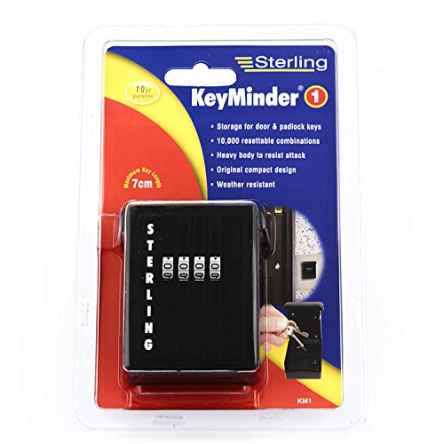 Keyminder storage for door & padlock keys km1.