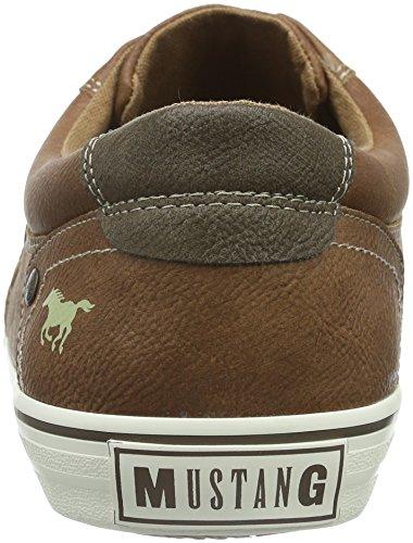 Mustang 4103-302-301, Zapatillas para Hombre Marrón (301 kastanie)