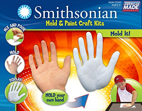 Smithsonian Mold-It! Perfect Cast Cast, Paint, Display and Learn Craft Kit