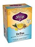 Yogi Teas Detox,16 Tea Bags, (Pack of 6), Packaging May Vary