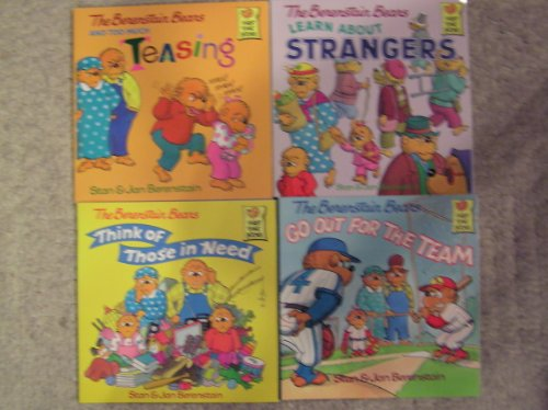 Berenstain Bears Teasing, Think of Those in Need, Go Out for the Team and Learn about Strangers