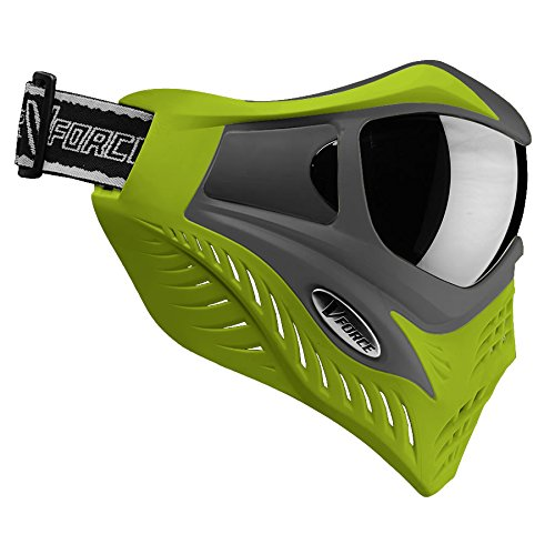 V-Force Grill Thermal Paintball Mask / Goggle - Special Color - Grey on Lime by VForce