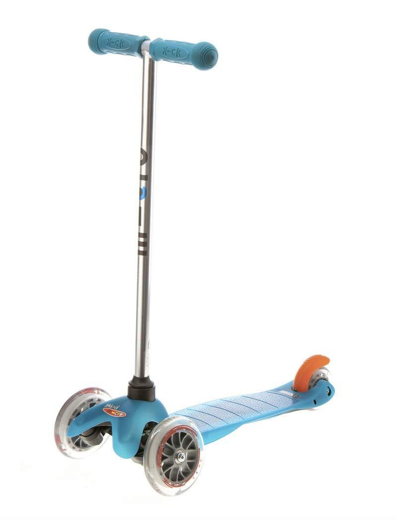 Aqua  Micro Mobility - Trougetinette Mini Trougetinette 3 Roues légère et Robuste - Navigation par Transfert de Poids - Apprentissage mobilité et équilibre - à partir de 3 Ans