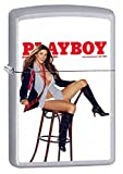 Zippo Lighter: Playboy Cover May 2006 - Satin Chrome