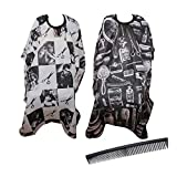 Best Barber Capes - 2 Packs Salon Barber Cape with professional Haircut Review