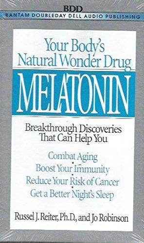 Melatonin: Natural Wonder Drug: Combat Aging, Boost Immunity, Reduce Cancer Risk, Better Sleep: Amazon.es: Russel J. Reiter, Jo Robinson: Libros en idiomas ...