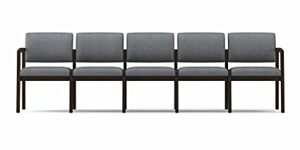 Amazon.com : Lesro Lenox Series 5 Seat Sofa No Center Arms ...