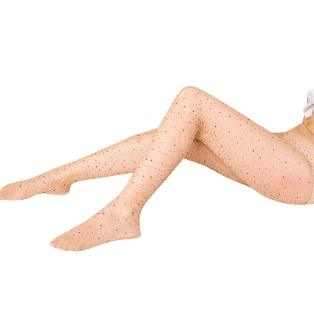 Foruu - Medias para mujer sexy de cintura alta, con ...