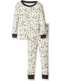 100% Organic Cotton 2-Piece Holiday Pajama Set, Cozy Winter, 18 Months