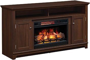 Amazon Com Eldersburg Infrared Electric Fireplace Tv Stand In