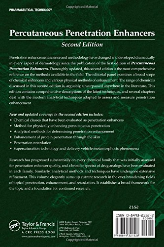 Percutaneous Penetration Enhancers, Second Edition by Brand: CRC Press