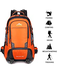50 L Waterproof Backpack Climbing Fishing Backpack Hiking Daypack,Handy Foldable Camping Outdoor Backpack Bag...
