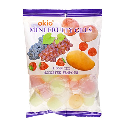 Okio, Mini Fruity Gels, Assorted Flavour, net weight 270 g (Pack of 1 piece)