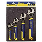IRWIN VISE-GRIP Adjustable Wrench Set, 4 Piece, 2078706