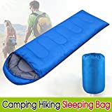 outdoortips Single Adult Envelope Camping Hiking Zipper Sleeping Bag