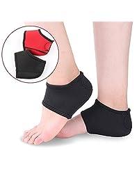 SOUMIT Heel Cushion Socks, Relieves Plantar Fasciitis, Achilles Tendonitis, Calluses, Spurs & Cracked Skin