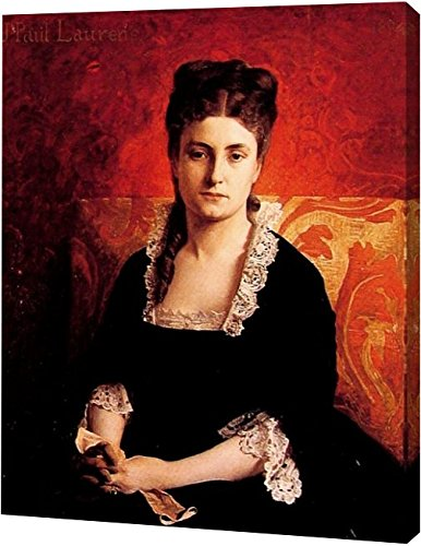 Jean Paul Femme - Portrait de Femme by Jean-Paul Laurens - 9
