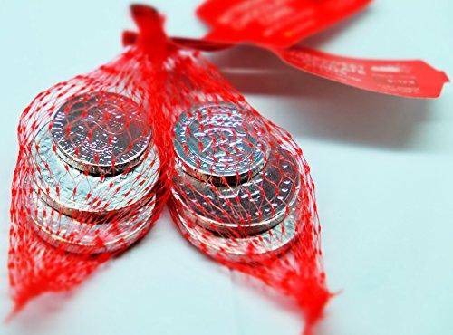 Elite Bittersweet Chocolate Hanukkah Coins Chanukah Gelt ( 2 Pack ) Gluten Free (Chanukah Chocolate Coins)