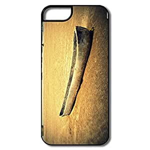 Hot Topic Designed Hard Back Cover Nice IPhone 5 5s Cases - Old Wooden Canoe