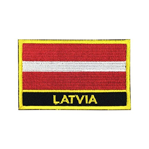Latvia Flag Patch/Sew-On Morale Patches by Backwoods Barnaby