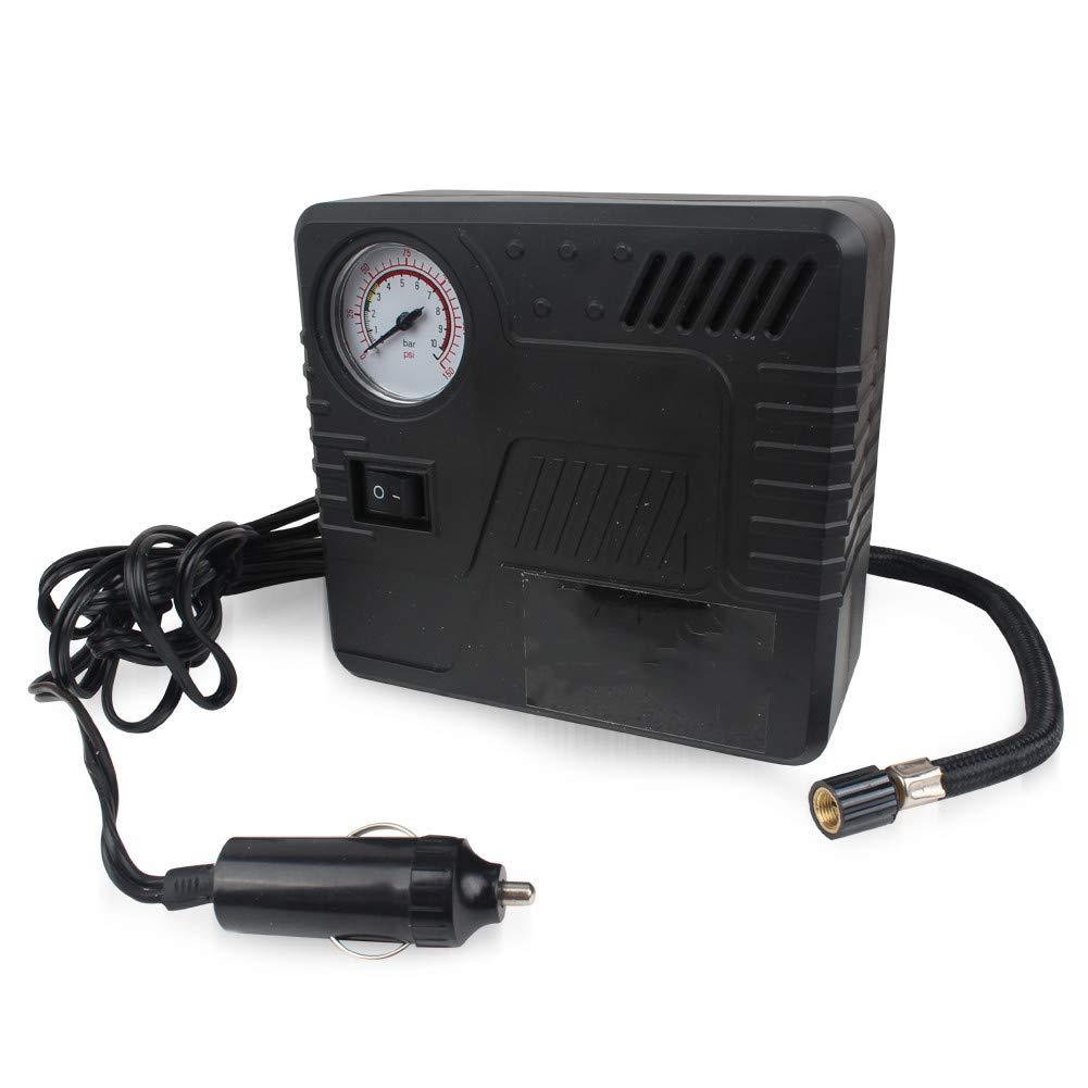 Yubbaex compressore Aria Portatile, Pneumatici, 12 V Pompa Aria compressore Pneumatico, 150 PSI Max, valvola adattatori: . it: Auto e Moto 12V Pompa Aria compressore Pneumatico 150PSI Max