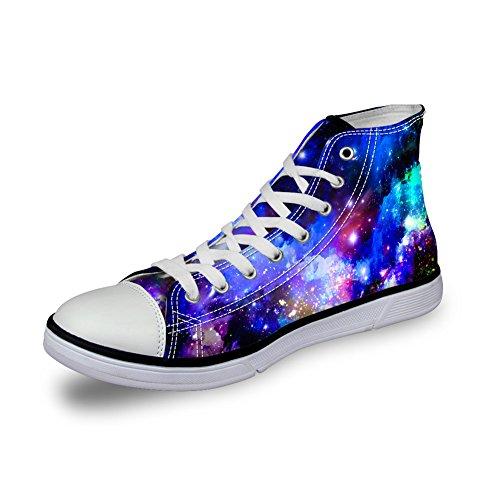 C431AK1 Alta Mujer Galaxy K Lona Coloranimal de Universe 2 Zapatilla pvfWxwAT4q