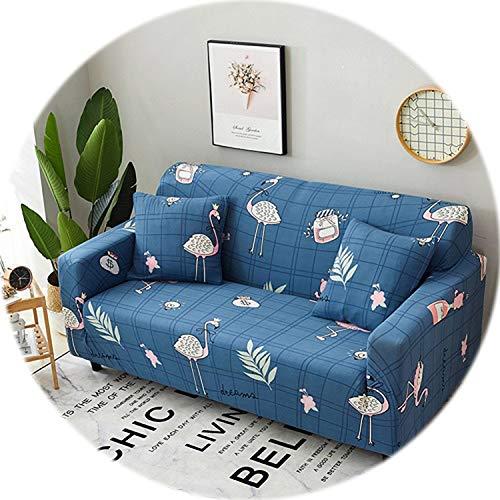 Secret-shop Universal Sofa Cover Flexible Stretch Big Elasticity Couch Cover Loveseat Sofa Furniture Cover Sofa Towel 1/2/3/4-seat Sofa Funda,10,1 Seat ()