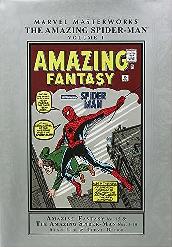 fc707c4f0f03 Marvel Masterworks  The Amazing Spider-Man Volume 1 (New Printing)   Amazon.co.uk  Stan Lee