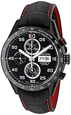 TAG Heuer Men's CV2A81.FC6237 Analog Display Swiss Automatic Black Watch from TAG Heuer