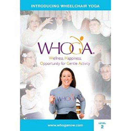 WHOGA Wheelchair Yoga DVD, Level 2: Intermediate