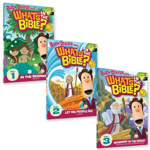 What's In The Bible? Starter Pack: Volumes 1, 2, 3