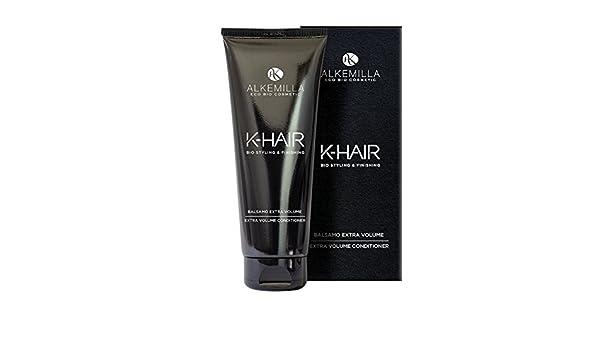 Amazon.com : ALKEMILLA - K-Hair - Extra Volume Hair Conditioner - Detangling and Volumizing - For Soft, Voluminous and Elastic Curls - 200 ML : Beauty