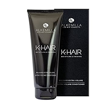 Amazon.com : ALKEMILLA - K-Hair - Extra Volume Hair Conditioner - Detangling and Volumizing - For Soft, Voluminous and Elastic Curls - 200 ML : Beauty