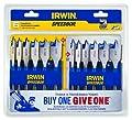Irwin Tools 1792761 Speedbor Blue-Groove Pro Spade Bit Set with Storage Case