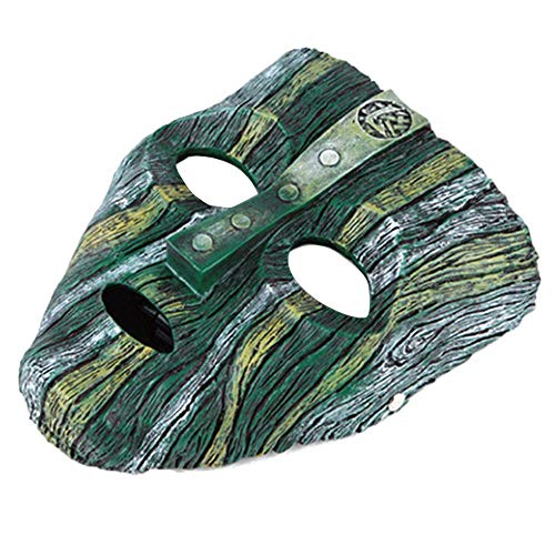 FOONEE Resin Loki Mask, Deluxe Jim Carrey The Mask Halloween Novelty Fancy Dress Costume]()